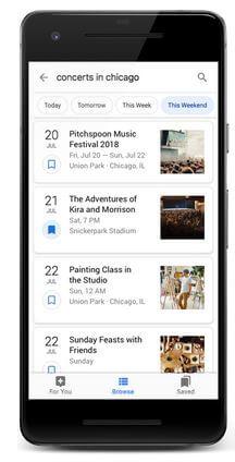 イベント情報のGoogle検索表示